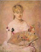 Lady with a Fan 1880 - Mary Cassatt