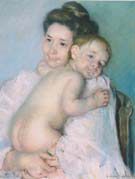 The Young Mother 1900 - Mary Cassatt reproduction oil painting