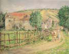Road by the Mill 1892 - Theodore Robinson reproduction oil painting