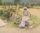 Le Debacle 1892 - Theodore Robinson reproduction oil painting