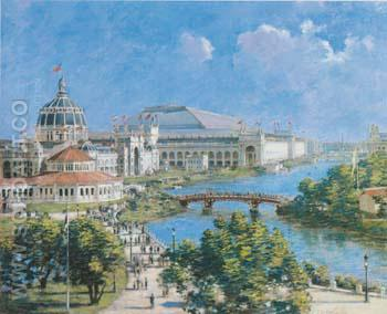 World s Columbian Exposition 1894 - Theodore Robinson reproduction oil painting