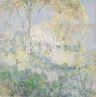 October 1901 - John Henry Twachtman reproduction oil painting