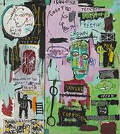 In Italian 1983 - Jean-Michel-Basquiat