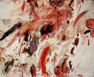 Ferragosto V 1961 - Cy Twombly reproduction oil painting