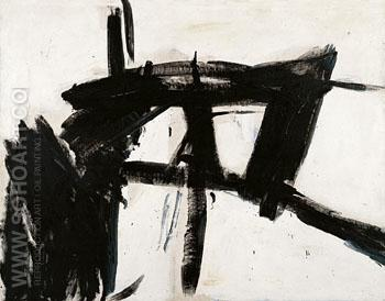 Vawdavitch 1955 - Franz Kline reproduction oil painting