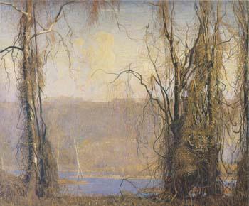Wilderness 1912 - Daniel Garber reproduction oil painting