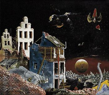 In the Land of the Germans 1947 - Franz Radziwill reproduction oil painting