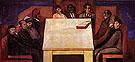 Table of Universal Brotherhood c1930 - Jose Clemente Orozco