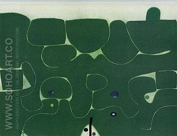 Wandering Journey 1983 - Victor Pasmore reproduction oil painting