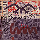 System Painting End 1969 - A R Penck