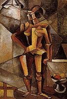 Cubist Nude 1913 - Llubov Popova