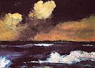 Sea and Light Clouds c1935 - Emile Nolde