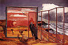 Landscape from a Dream c1936 - Paul Nash reproduction oil painting