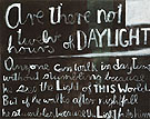 Are There not Twelve Hours of Daylight 1970 - Colin McCahon reproduction oil painting