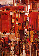 The Surrender of Barcelona c1934 - Percy Wyndham Lewis