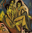 Group of Artists 1912 - Ernst Kirchner
