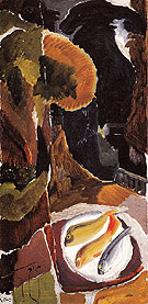 Balcony with Fish 1943 - Ivon Hitchens