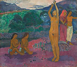 The Invocation 1903 - Paul Gauguin reproduction oil painting