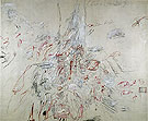 Hero and Leander 1962 - Cy Twombly reproduction oil painting