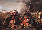 The Death of General Wolfe 1770 - Benjamin West