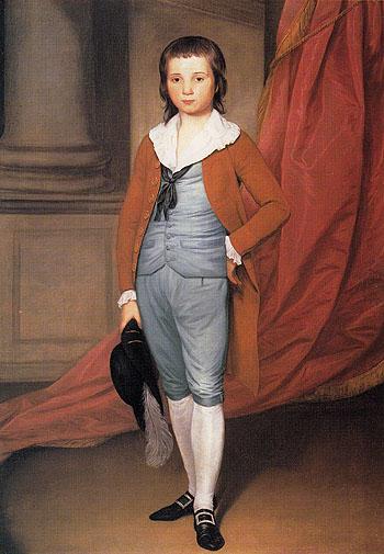 John Coats Browne c1784 - Joseph Wright reproduction oil painting