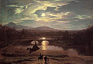 Moonlit Landscape 1819 - Washington Allston