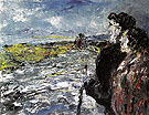 Waiting for the Long Car c1948 - Jack Butler Yeats