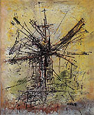 The Windmill 1951 - Wols reproduction oil painting