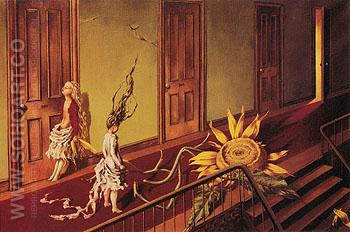 A Little Night Music 1946 - Dorothea Tanning reproduction oil painting
