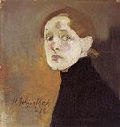 Self Portrait 1912 - Helene Schjerfbeck