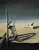 Lost Record 1940 - Kay Sage reproduction oil painting