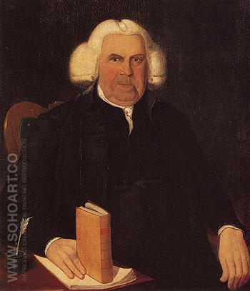 Samuel Bishop c1800 - Reuben Moulthrop reproduction oil painting