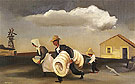 Migration c1932 - William Gropper reproduction oil painting