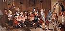 Sea Captains Carousing in Surinam 1758 - John Greenwood reproduction oil painting