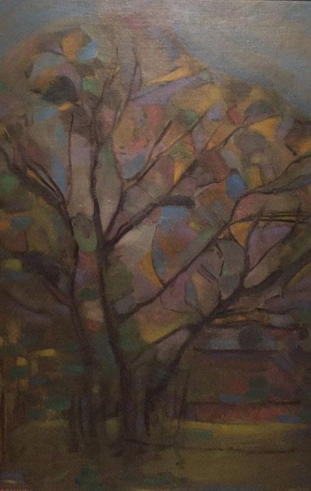 The Tree c1908 - Piet Mondrian reproduction oil painting
