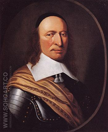Governor Peter Stuyvesant c1660 - Henri Couturier reproduction oil painting