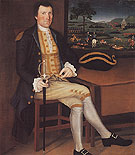 Captain Samuel Chandler c1780 - Winthrop Chandler reproduction oil painting