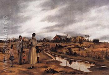 Georgia Jungle 1939 - Alexander Brook reproduction oil painting