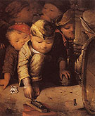 Street Urchins c1856 - David Gilmour Blythe reproduction oil painting