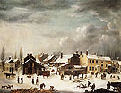 Winter Scene in Brooklyn c1817 - Guy Francis