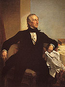 John Tyler 1859 - George Healy reproduction oil painting