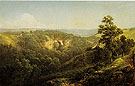 Natural Bridge Virginia 1860 - David Johnson reproduction oil painting