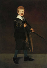 Boy with a Sword 1861 - Edouard Manet reproduction oil painting