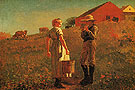 Gloucester Farm 1874 - Winslow Homer reproduction oil painting