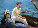 Boating 1874 - Edouard Manet