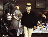 Lunch in the Studio 1868 - Edouard Manet