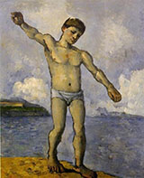 Bather with Raised Arm c1878 - Paul Cezanne