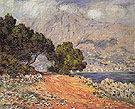 Cap Martin near Menton 1884 - Claude Monet reproduction oil painting