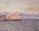 Old Fort at Antibes 1888 - Claude Monet reproduction oil painting