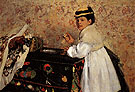 Hortense Valpincon 1871 - Edgar Degas reproduction oil painting